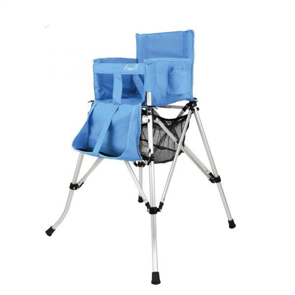 כיסא תינוק מתקפל כחול