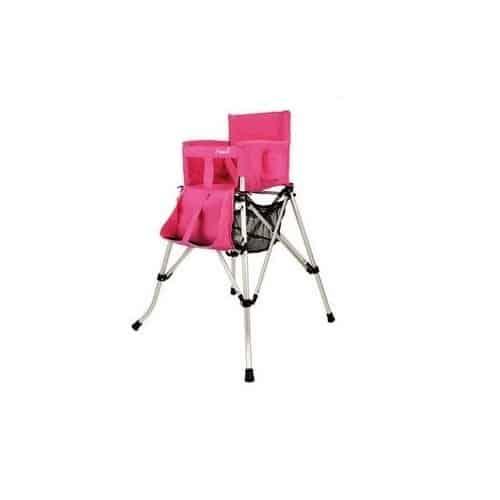 כיסא תינוק מתקפל ורוד