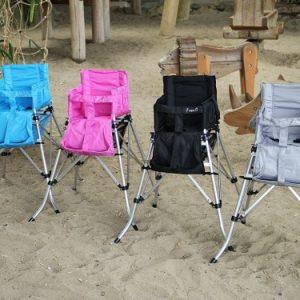 כיסא תינוק מתקפל אפור
