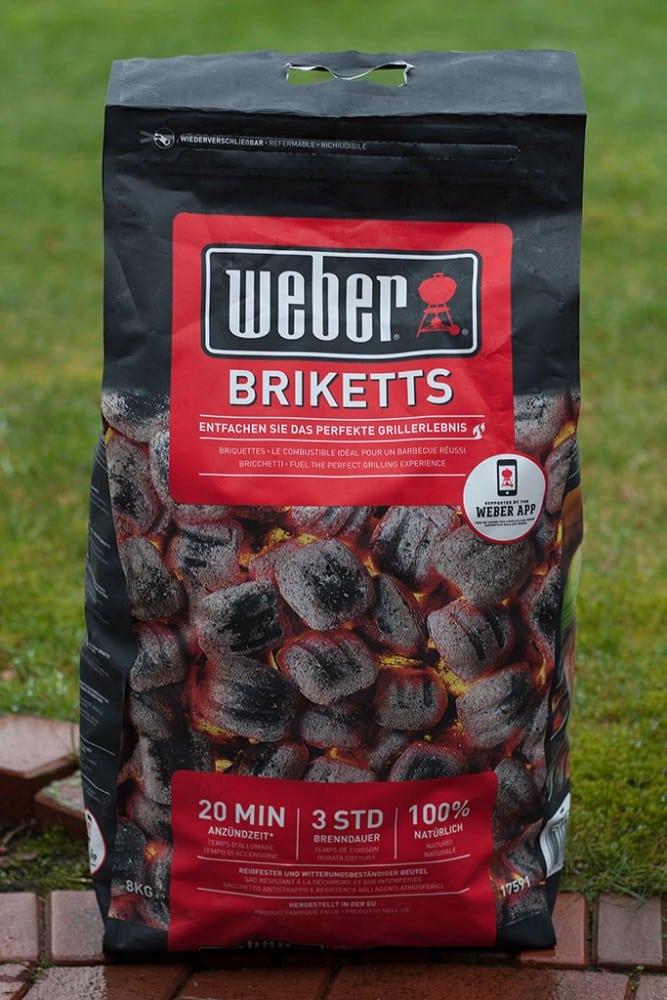 פחם דחוס Weber Briketts