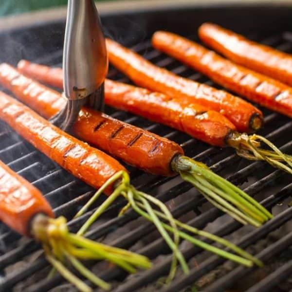 איך לעשות ירקות על גריל גז