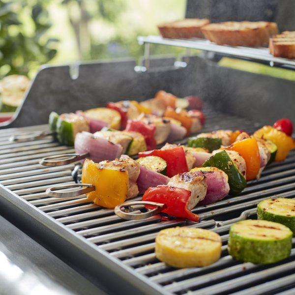 בישול טבעוני בגריל גז